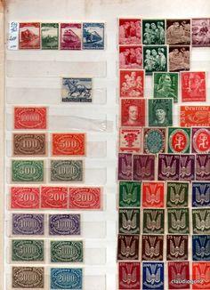 Selos Alemanha Reich sem carimbo 1