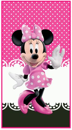 Minnie Mouse Background, Mickey Mouse Wallpaper, Hello Kitty Backgrounds, Foto Poster, Minnie Mouse Cake, Disney Family, Black Girls Rock, Cute Disney, Birthday Decorations