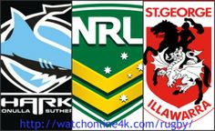 Cronulla Sharks vs St George Dragons Live Stream Watch Online National Rugby League 2016 HD TV Coverage. You can easily watch Cronulla Sharks vs St George D