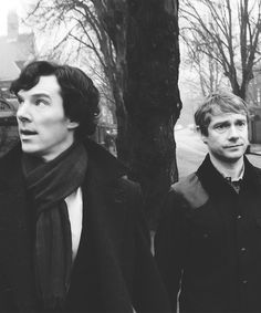 """Dr. JOHN WATSON: Don't do that  Sherlock: Do what?  Watson: The look  Sherlock: Look?  Watson: You are doing the look again  Sherlock: I can't see it can I? It's my face  Watson: Yes and it's doing a thing. You are doing a ""we both know what's going on here"" face  Sherlock: We do  Watson: No, I don't. which is why I find the face so annoying""  Sherlock, The Reichenbach Fall."