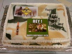 cake ideas on Pinterest  Duck Dynasty Cakes, Camo and Duck Blind