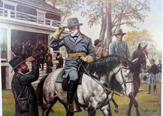 Affordable fine art prints, original oils, illustrations, military history brought to life by renown Civil War and Military artist Don Stivers. Civil War Quotes, Civil War Art, Confederate States Of America, America Civil War, Military Art, Military History, Us History, American History, World Warfare