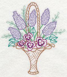 Blooming May Basket (Vintage)