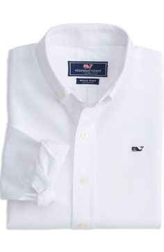 This is a great white shirt basic that should be in every little guy's closet. This boy's whale shirt is sure to be worn a lot! Boys Dress Shirts, Boys Shirts, Sports Shirts, Shirt Dress, Preppy Outfits, Girl Outfits, Summer Outfits, Fashion Outfits, Mens Fashion