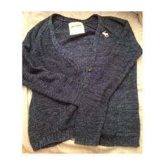 Abercrombie kids navy cardigan. Abercombie kids. Size L. Fits XS women's. This is the lowest I want to go. Excellent condition. Abercrombie & Fitch Shirts & Tops Sweatshirts & Hoodies