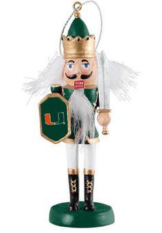 University of Miami 4.25'' Brewster Nutcracker