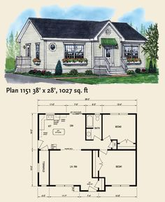 Home Plans « Disher Homes Factory Built Homes, New Brunswick, Small House Plans, Little Houses, Planer, Tiny House, Cool Designs, Floor Plans, How To Plan