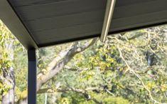 Pergolamarkise - minimalistisk og stilfullt | Solskjerming ute | uteDESIGN Roman Shades, Windows, Curtains, Home Decor, Lily, Patio, Blinds, Decoration Home, Room Decor