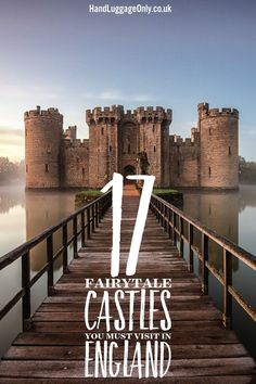 England has some of the most spectacular castles in the world! Yes, I'm biased but I do love how there are literally hundreds of castles dotted around our - 17 Fairytale Castles You Must Visit In England - Travel, Travel Inspiration - England, Europe, United Kingdom -Travel, Food and Home Inspiration Blog with door-to-door Travel Planner! - Travel Advice, Travel Inspiration, Home Inspiration, Food Inspiration, Recipes,