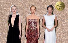 Escotes atrevidos, exquisitos bordados, y siluetas extraordinarias son algunos de los elementos que hicieron de estos, los mejores looks sobre la alfombra roja de los Golden Globes 2016.