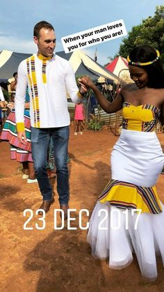 """⚠️Credit before reposting? GIVE IT SUS ⚠️ xoxo - ✨ He looking like """"Dayum, I'm lucky"""" South African Wedding Dress, African Traditional Wedding Dress, African Wedding Attire, Traditional Wedding Attire, South African Weddings, African Attire, African Dress, Kenyan Wedding, Nigerian Weddings"""