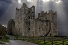 Bolton Castle in the Yorkshire Dales National Park.