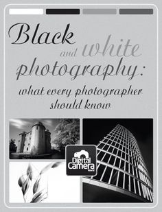 Black and White Photography: what every photographer should know #infographic #photography