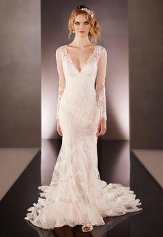 Essense of Australia Martina Liana Wedding Dresses Fall 2015   TheKnot.com