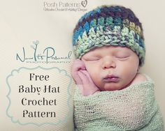 Sign up for email updates to the blog, and receive this Easy Baby Hat crochet pattern for free!!