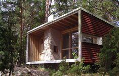 // Lådan (the Box) Erskines first home south of Stockholm, built 1941-42, rebuilt 1989 on Ekerö  // Ralph Erskine