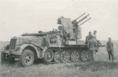 2 cm Flakvierling 38 auf Selbstfahrlafette (Sd.Kfz. 7/1)