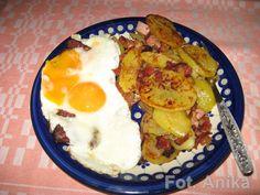 Domowa kuchnia Aniki: Ziemniaki po chłopsku( przepis kuchni niemieckiej)