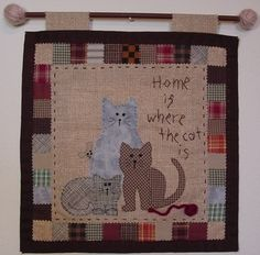 For the cat lover - easy pattern!