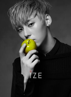 Minhyun (Nu'est) - Ize Magazine October '16