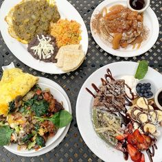 """Kanchan Garg on Instagram: """"This epic spread @chicagowaffles_westloop is gonna leave me drooling for days! 🤤 The #waffleflight provides a multitude of flavors in a…"""" Best Brunch Chicago, Waffles, Ethnic Recipes, Instagram, Food, Essen, Waffle, Meals, Yemek"""
