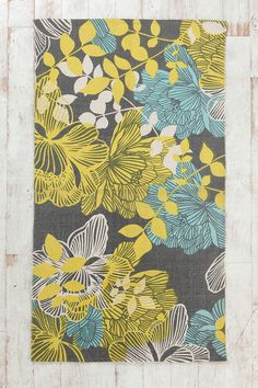Plum & Bow Silhouette Garden Rug from Urban Outfitters. Saved to My Home. Shop more products from Urban Outfitters on Wanelo. Beautiful Bedroom Designs, Beautiful Bedrooms, Yellow Rug, Mellow Yellow, Gray Yellow, Bedroom Colors, Bedroom Decor, Bedroom Ideas, Urban Outfitters Rug