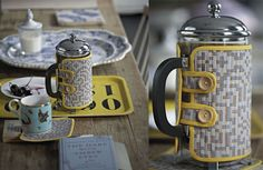 Make Your Own Liberty Print Cafetière Cover and Coasters - tutorial