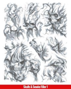 Tattoo Sleeve Filler Smoke 31 Ideas For 2019 Tribal Scorpion Tattoo, Tribal Cross Tattoos, Geometric Tattoos, Skeleton Tattoos, Skull Tattoos, Body Art Tattoos, Tattoo Hip, Smoke Tattoo, Demon Tattoo