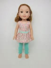 Image result for +Wellie Wisher Doll Patterns Leggings