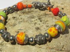 OOAK Handmade Summer Bracelet by blingo10 on Etsy
