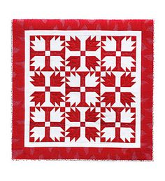 Additional Images of Red, White, & Quilted by Linda Baxter Lasco - ConnectingThreads.com