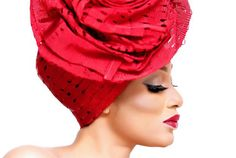 """Funmilola Olurinola of Abeke Makeovers debuts """"Oriki"""" – A Celebrity Inspired """"Iconic Gele"""" Collection! African Print Wedding Dress, African Wedding Attire, African Attire, African Hats, African Dress, Hair Wrap Scarf, African Head Wraps, Muslim Brides, Turban Style"""