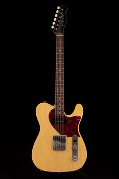 Guitar Center: Platinum : Fender Custom Shop 1960s Tele Relic TV Yellow by Dale Wilson