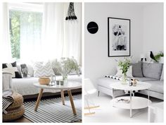 Cómo decorar un salón con estilo nórdico | Ninala Home