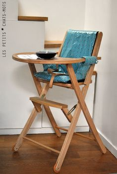 Housse de chaise haute,| Les petits chats mots
