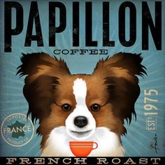 Papillon French Roast Coffee Company original por geministudio