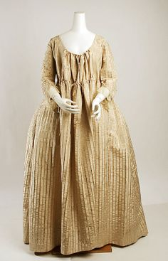 Dress (Robe à l'Anglaise) (gaulle?) - Met