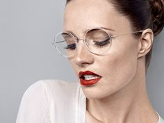Combining a remarkably thin composite eyewear design and ultra lightweight titanium temples into a minimalistic fashion look. Trends 2018, International Eyewear, Eyewear Trends, New Glasses, Optical Frames, Optician, Classic Elegance, Glasses Frames, Woman Face