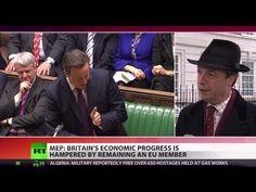 Farage: UK stuck in shrinking, old-fashioned Europe - http://video.vaseljenska.com/farage-uk-stuck-in-shrinking-old-fashioned-europe/