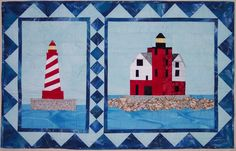 I just listed Quilt Pattern:  Round Island and White Shoal Lighthouses on The CraftStar @TheCraftStar #uniquegifts