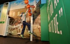 SportsZone Exhibit | The Franklin Institute Science Museum