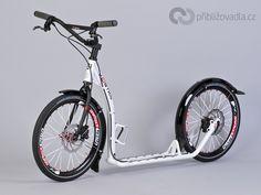 Scooter (footbike) | koloběžka – Kostka Hill Pro – full review > Priblizovadla.cz