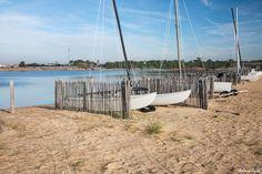 Lac artificiel de l'Ecole de Voile de la Tranche sur Mer