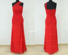 red bridesmaid dresses red prom dress cheap bridesmaid by okbridal, $125.99