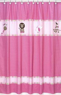 Jojo Designs Shower Curtain Jungle Friends