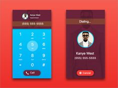 Daily UI Day 003 - Dial Pad