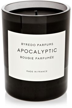 Handmade in France, Byredo's 'Apocalyptic' candle creates a rich, woody aroma from its fusion of Fire Iron, Black Raspberry, Dark Woods and Papyrus. Layered with scents of Oakmoss and Birch Woods for a warm fragrance