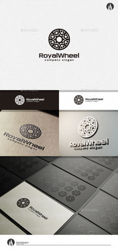 Royal Wheel Logo — Vector EPS #jewelry #imperium • Available here → https://graphicriver.net/item/royal-wheel-logo/10803469?ref=pxcr