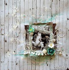 LOVE -DT LINDA Hanukkah, Ladder Decor, Scrap, Wreaths, Home Decor, Decoration Home, Room Decor, Scrap Material, Bouquet
