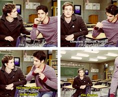 Teen Wolf. So funny :)